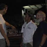 068   Luca Belfioretti, Capt. Saleh al Jabri and Tom Vosmer are pleased