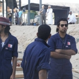 098   The Omani trainees wonder if the ship can be launched