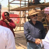 002   HE Abdul Aziz meets Construction Director, Tom Vosmer
