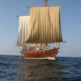 017   The Jewel under full sail for the first time
