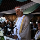 017   HH Sayyid Shibab Bin Tariq Al Said delivers the main speech