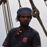 010   Fahad Al Shaibi ready to sail the Jewel