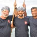 017   New crew members: Dr. Tom Vosmer, Zakariya Al Saadi, and Ananda Kumar