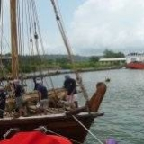 120   The Jewel sails out