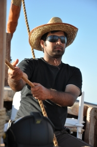 Ayaz at the helm