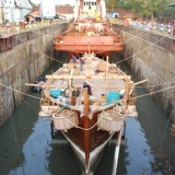 011   Jewel in dry dock ready for inspection
