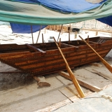 114   The sewn boat made by the Omani Trainees