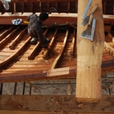 128   Shaping the first through beam (2)