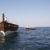 100   The Royal Navy of Oman provides tow boats