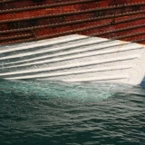106   The Chunam anti-fouling protects the hull