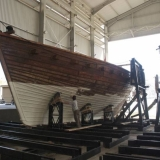 070   When anti-fouling is finished the ship will be ready for its masts.