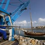122   The mast weighs around half a tonne