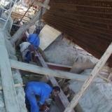 003   حفر خنادق لبناء إطار أسفل السفين