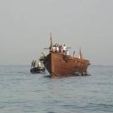 124   It's an hour's tow to the Marina Bandar Al-Rowdha