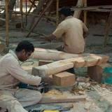 029   Rathnan Kodiyil (left) & Pushpadas Elamassery Krishnan (Indian Carpenters)