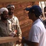 038   Saleh Al Jabri meets the construction team