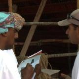 042   Captain Saleh Al Jabri interviewed by the press