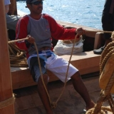 008   Capt Saleh finds the steering responsive