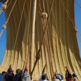 009   So the main sail is hoisted..
