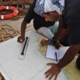 066   Capt Saleh plots the course home