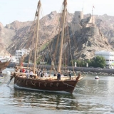110   Jewel passes Muttrah fort