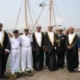 161   Omani and Indian dignitaries ready to greet Jewel