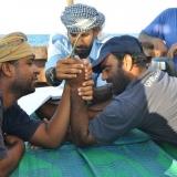113   Arm wrestling between Yahya  Al Faraji and Ahmed Al Baluchi