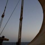 064   A sail under pressure