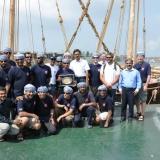 003   طاقم الجوهرة قبل مغادرة كوتشين إلى سريلانكا
