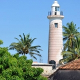 066   The lighthouse in Galle - featured in Lt. Abeywickrama's drawing