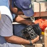 083   Ahmed Al Balushi repairs a broken water pump
