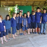 084   Young students from The Galle International School