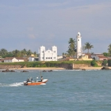 057   Lighthouse at the entrance to Galle harbour