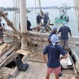 041   The Jewel of Muscat enters Klang harbour