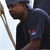 006   Khamis Al Hamdani ready to set sail