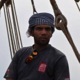 010   Fahad Al Shaibi ready to sail the Jewel