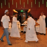 108   Yahya Al Faraji joins in a traditional dance