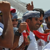 127   A hero's welcome for Capt Saleh al Jabri and his crew