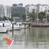 057   Jewel enters Keppel Bay Marina...