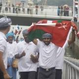 067   Capt Saleh leads an ecstatic crew