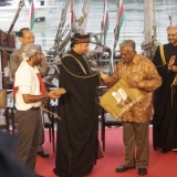 079   Jewel of Muscat is formally handed over as a gift to the people of Singapore from Oman