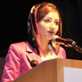 148   Ibtihal al Zedjali, presenter of the Gala