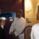 008   Distinguished guests are shown round the exhibition