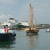 063   Jewel being towed into Galle Harbour