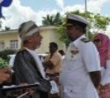 073   Sri Lankan Navy Commander with Omani dignitaries