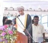 080   H.E Ambassador Sheikh Al-Maani, Omani Ambassador gives his speech