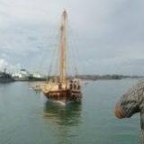 064   Jewel approaching her berth