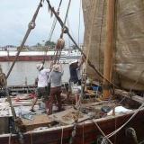 082   Preparing the Jewel for sea again
