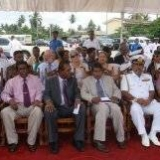 069   Dignitaries at the welcome ceremony