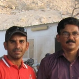041   Submitted by Namachivayam: With Captain Saleh
